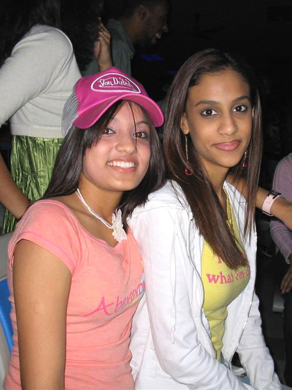Pic of Sana and Friend.