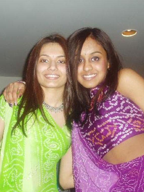 Pic of Latika and Friend.