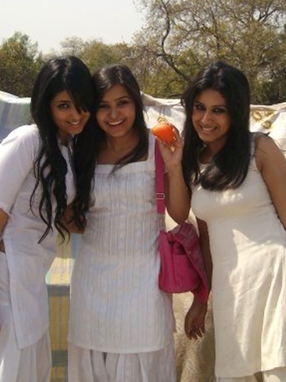 Pic of Lalita, Punita and Maralah.