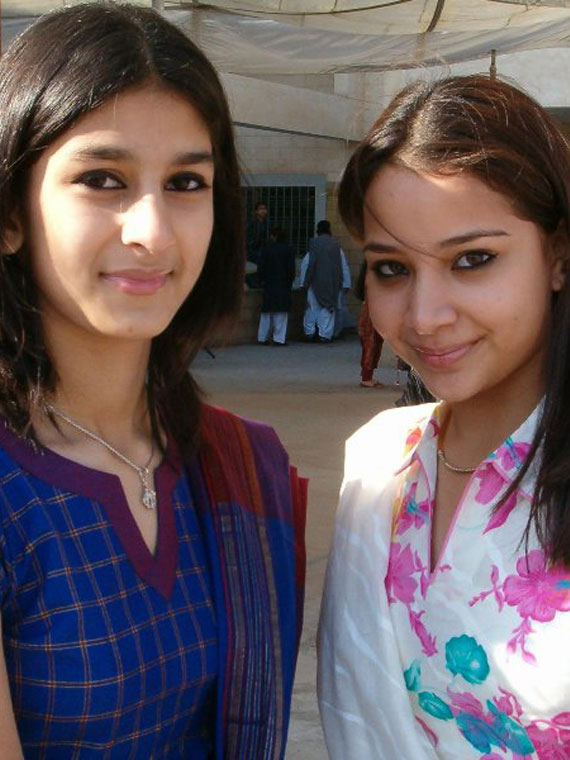 Pic of Lalima and Friend.