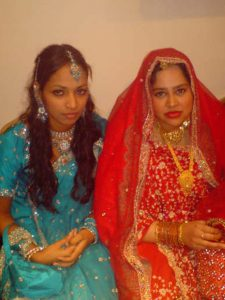 Picture of Jahanara and Trisha.